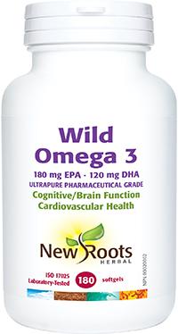 Wild Omega 3 180mg EPA 120mg DHA