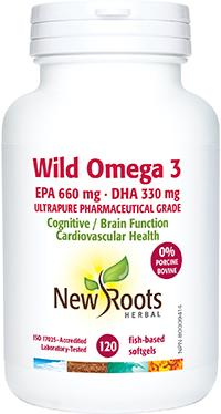 Wild Omega 3EPA 660mg DHA 330mg