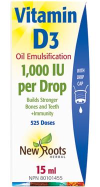 Vitamin D3 (liquid)