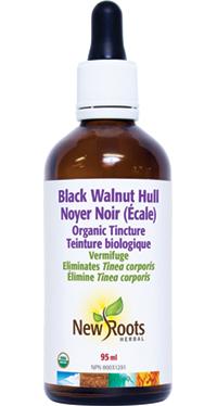 Organic Black Walnut Hull