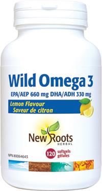 Wild Omega 3 EPA 660mg DHA 330mg Lemon Flavour