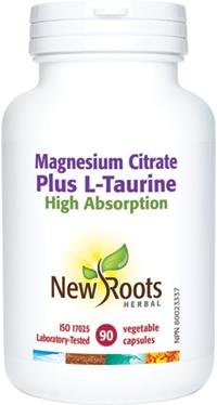 Magnesium Citrate Plus L-Taurine